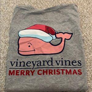 Vineyard Vines Merry Christmas tee